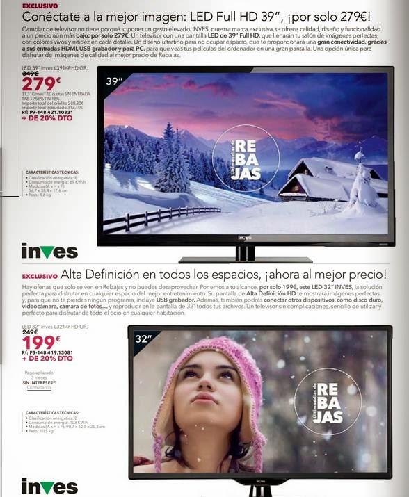 Televisores Inves LTC 2-2015
