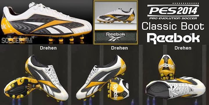 PES 2014 Classic Boot Reebok Instante Pro
