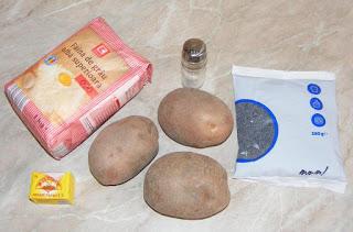 ce ingrediente ne trebuie pentru a face o paine cu cartofi gustoasa si pufoasa de casa, retete culinare,