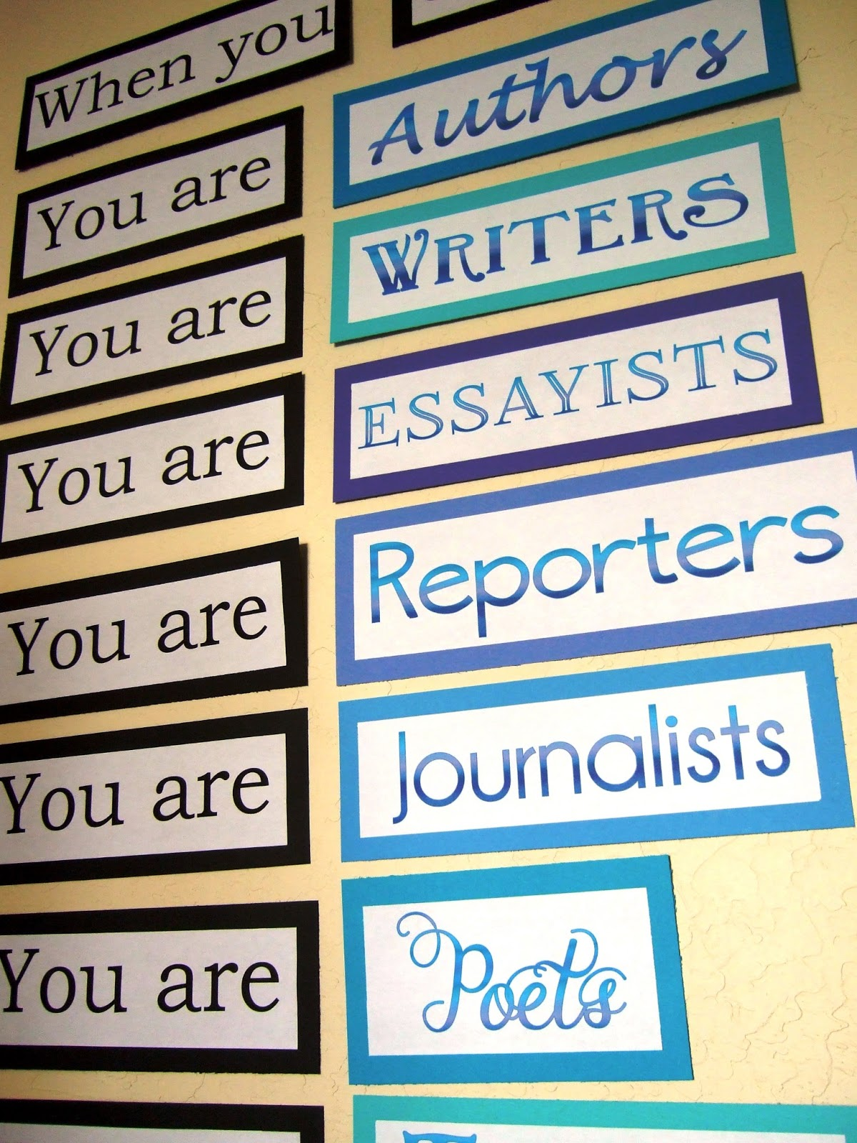 6th Grade English Classroom Decorations ~ Quotes for language arts students quotesgram