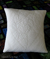 2015 Free-motion quilting challenge pillow