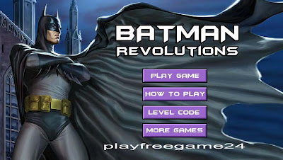 Batman Revolutions Games Play Free Online