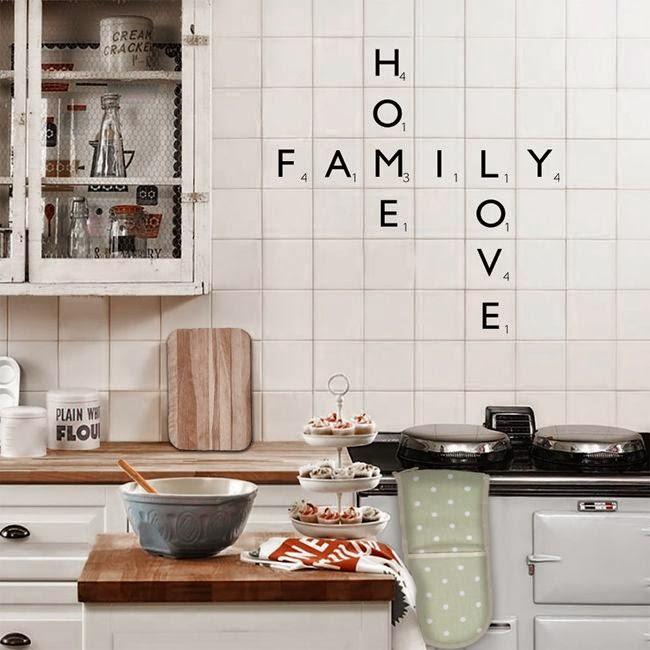 Decorar paredes con letras letras de madera para decorar - Decorar paredes con letras ...