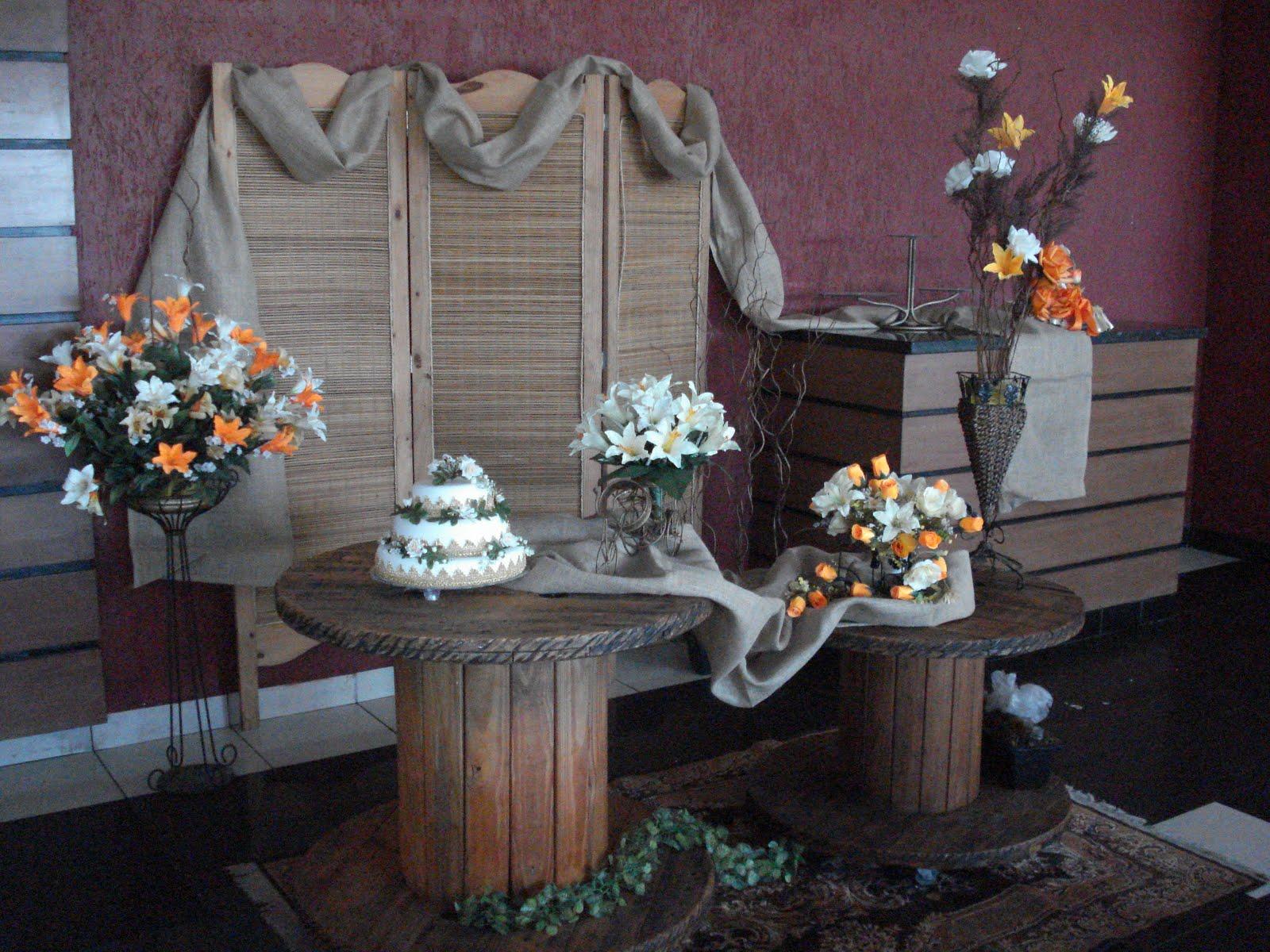 decoracao festa rustica:ju festas: Decoração rústica na Churrascaria Estância-Jundiaí