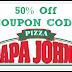 Papa Johns Promo Codes