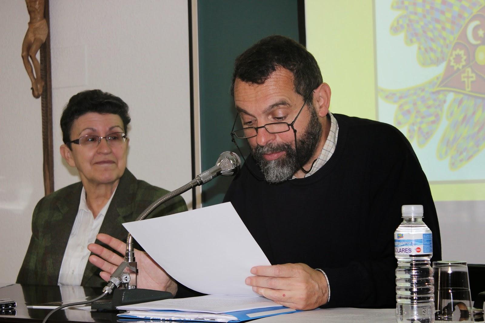Javier Melloni y  Celia Camacho