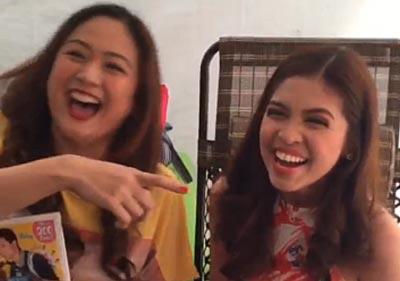 Startattle.com - tintin christine babao bersola tv host picture interview my bebe love shooting set maine mendoza yaya dub alden richards videos watch instagram fan aldub love team ninang questions jokes funny viral