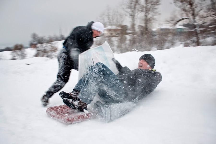 Sugören'de Kış - Karda Kayan Çocuklar-4