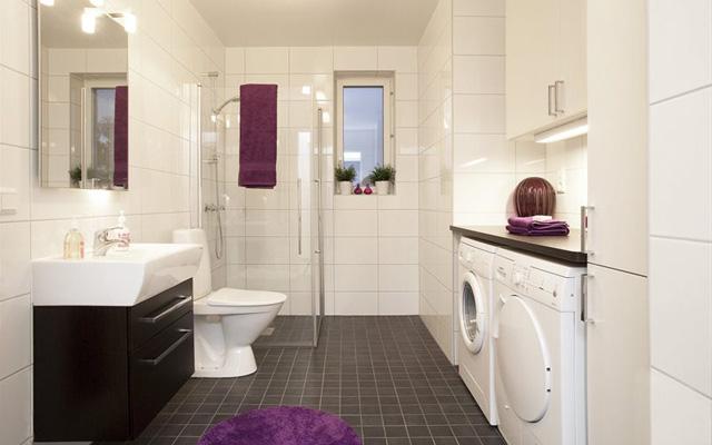 Decorar Baño Lavadora:Cómo integrar la lavadora en el baño  La Garbatella: blog de