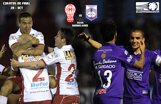 Huracán vs Defensor Sporting, Copa Sudamericana 2015