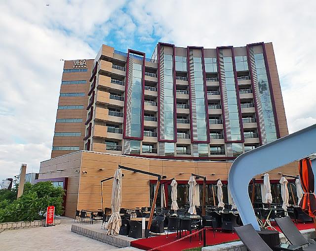 hotel vega vedere de la piscina