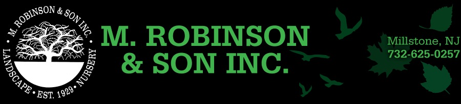 Landscape Design Services, Millstone and Spring Lake NJ | M. Robinson
