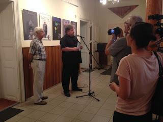 Koltai Tamás és Gedeon József megnyitják a kiállítást és a XI. Shakespeare Fesztivált