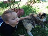 Wyatt and CatCat