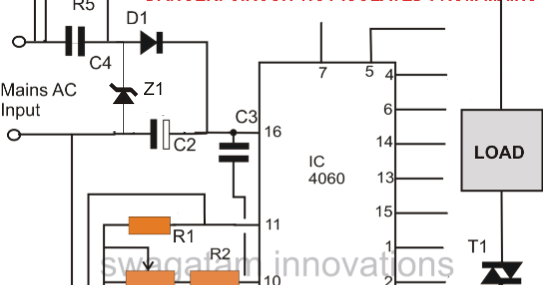 simple triac timer circuit