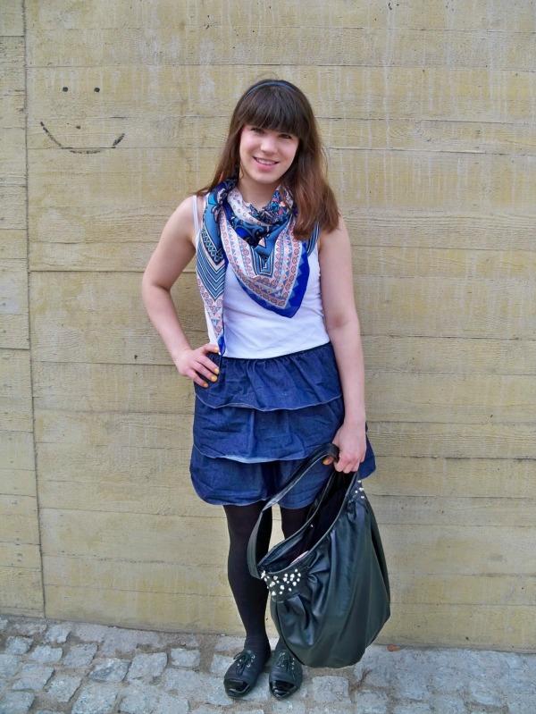 30 Kleidungsstücke für 30 Tage ergeben 30 verschiedene Outfits Tag 13