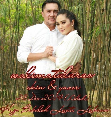 Tahniah Pasangan akademi fantasia Yazer dan Ekin bakal mendirikan rumahtangga disember ini