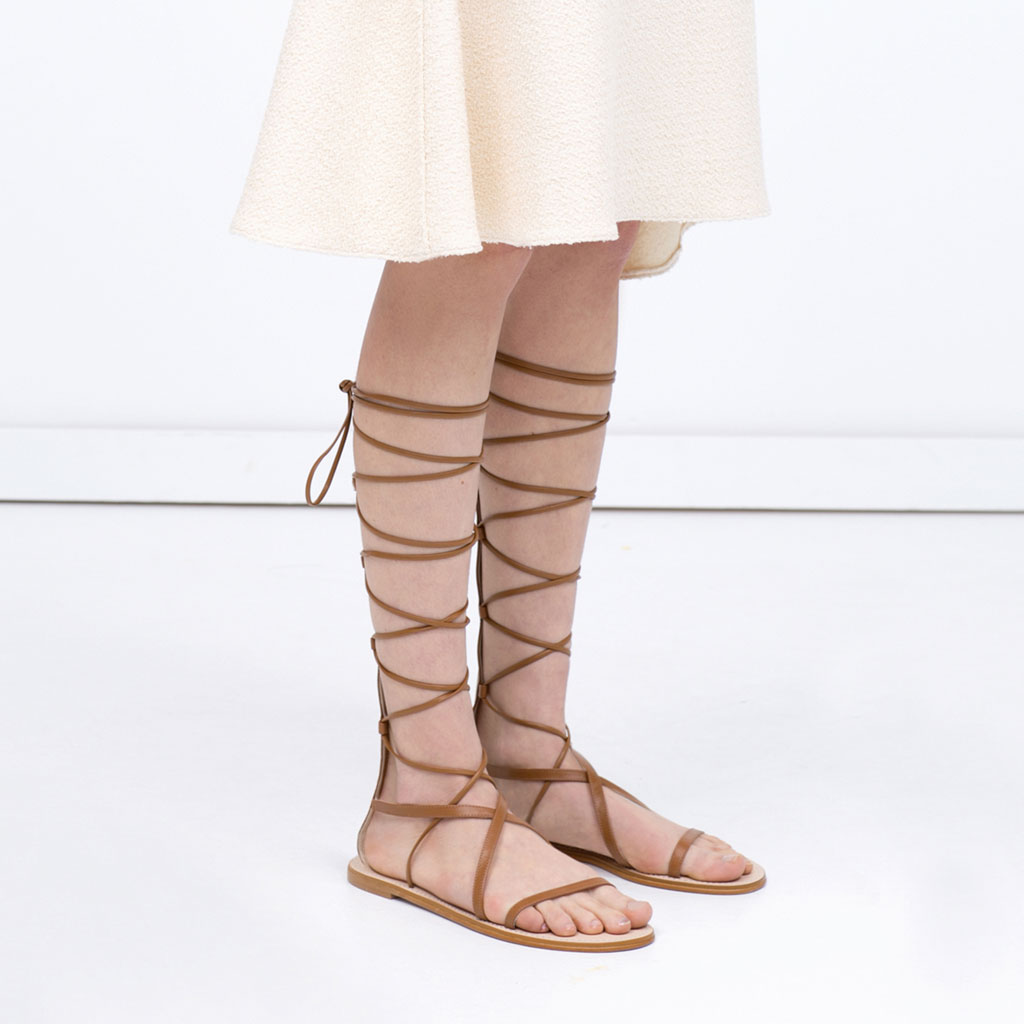 Eniwhere Fashion - Gladiators trend summer 2015