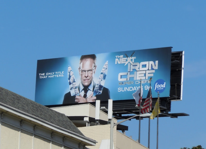 Next Iron Chef Superchef billboard