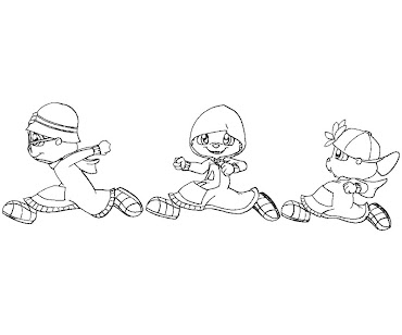 #2 Alvin and the Chipmunks Coloring Page