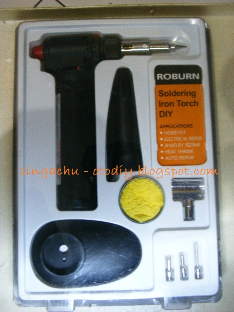 review 3 in 1 mini torch hot blower iron solder berbahan bakar butane. Black Bedroom Furniture Sets. Home Design Ideas