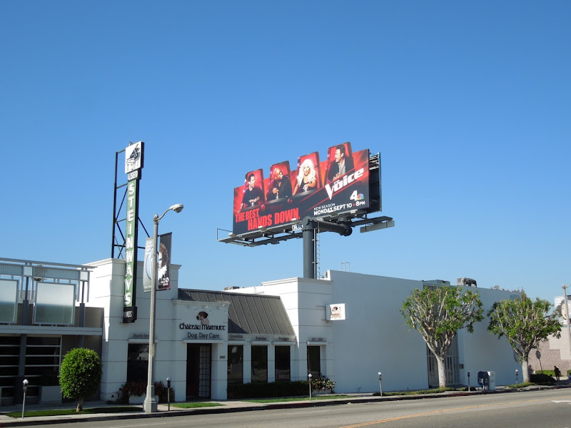 The Voice season 3 special extension billboard