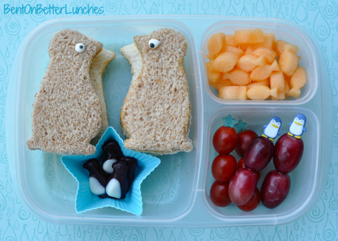 March of the Penguins EasyLunchboxes bento school lunch