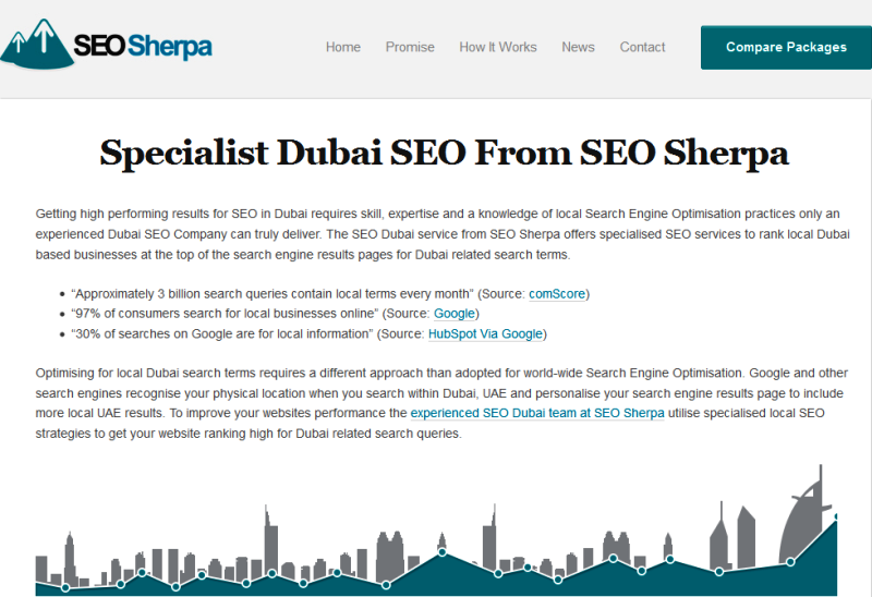 leading SEO company in Dubai