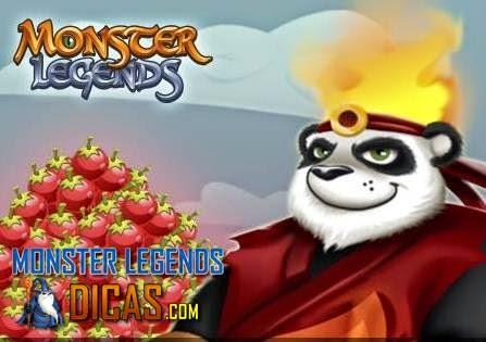Ganhe Comida Grátis no Monster Legends