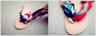 Kerajinan Tangan sandal Dari Kain Perca, Sandal Perca 3