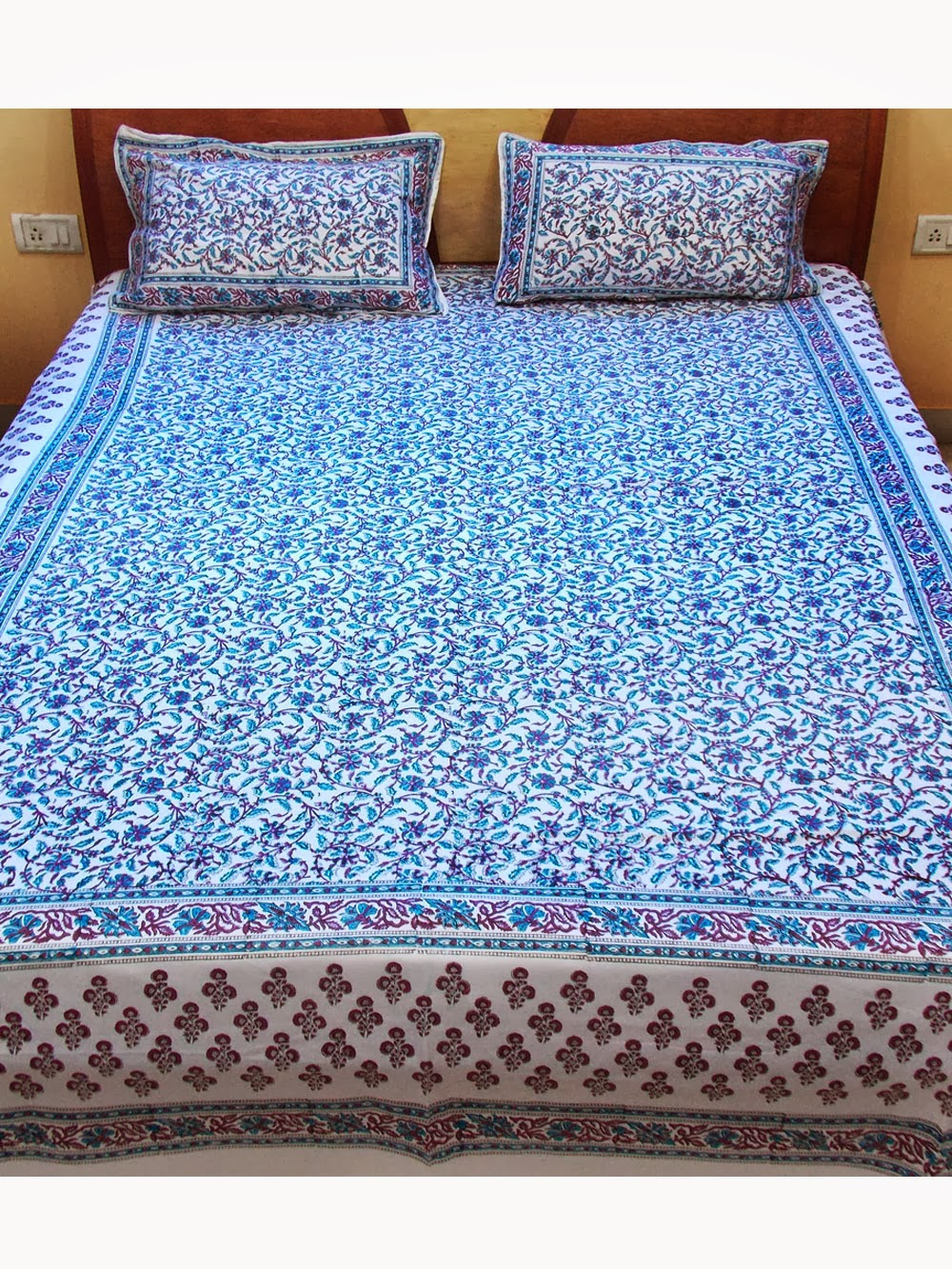 Cotton Is The Most Popular Supply To Make Bedsheets. This Fabric Is Not  Just Beautiful, But Itu0027s Everlasting And Comfortable.