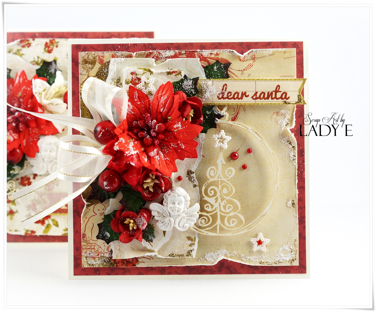 Wild Orchid Crafts: Traditional Christmas Cards and Video Tutorial