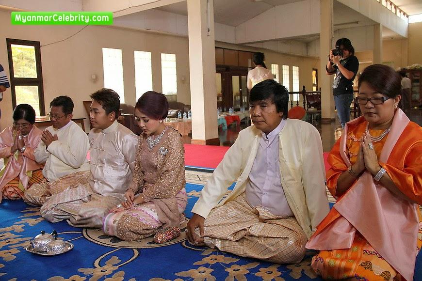 Myanmar wyne su khine thein wedding bands