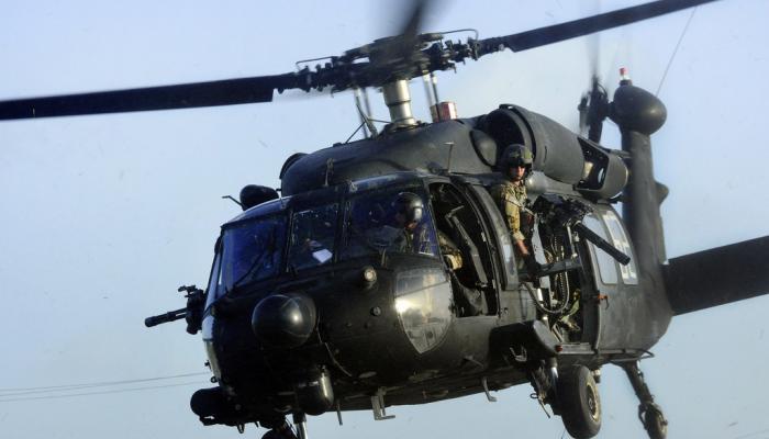 Τουρκικό ελικόπτερο Βlack Hawk  με τους πράκτορες προσγειώθηκε στην Αλεξανδρούπολη