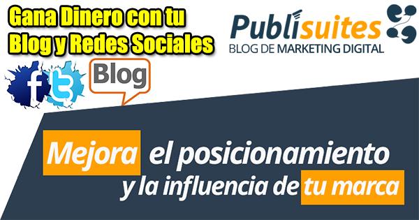 Rentabiliza tu blog y tus redes sociales