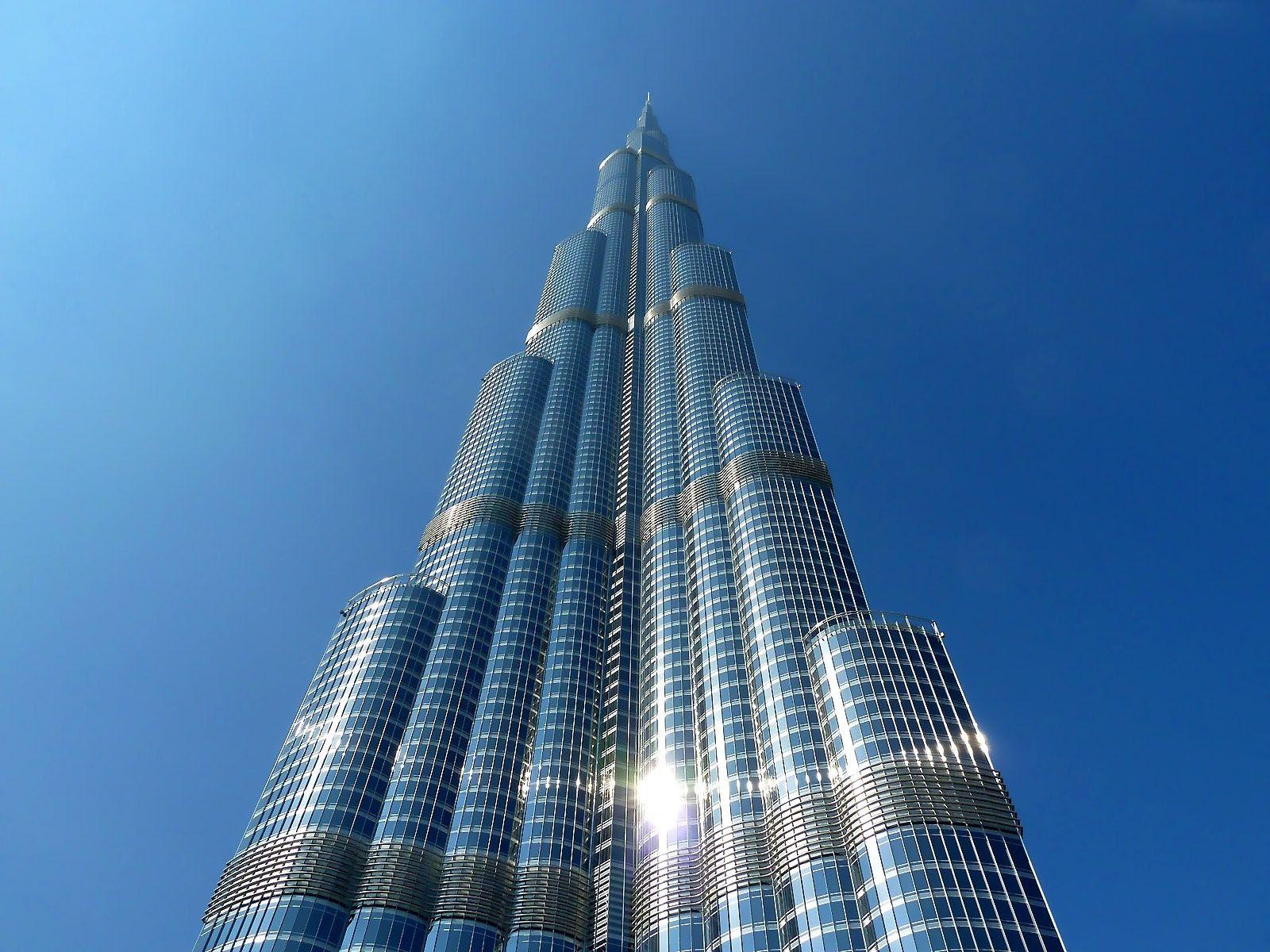 Tip of burj khalifa