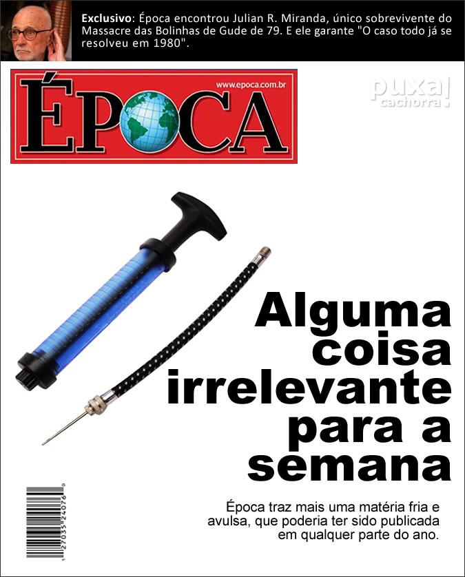 Revistas com capas realistas Epoca_sincera