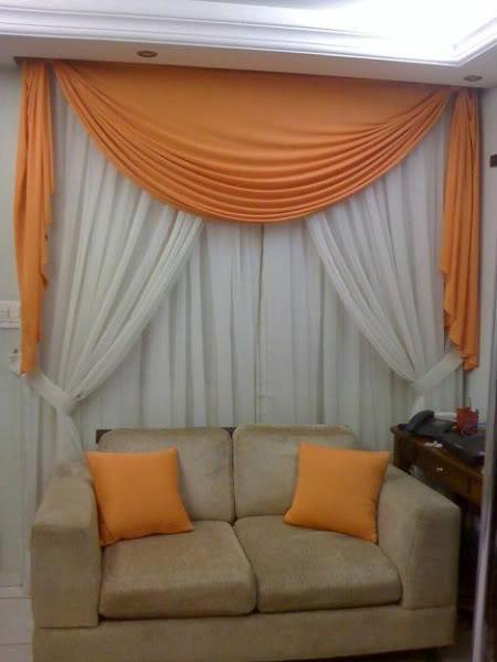 Cortinas para el hogar modelos de cenefas for Modelos de cortinas para living