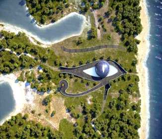 Casa de ojo de Naomi Campbell