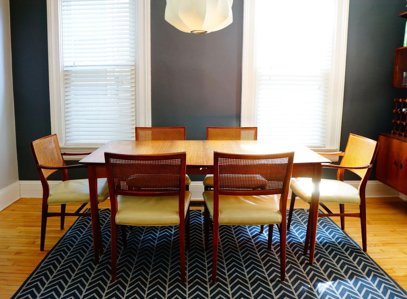 Midcentury modern dining