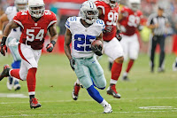 Lance Dunbar Dallas Cowboys Arizona Cardinals