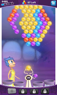 Screenshots of the Inside out: Thought bubbles for Android tablet, phone.