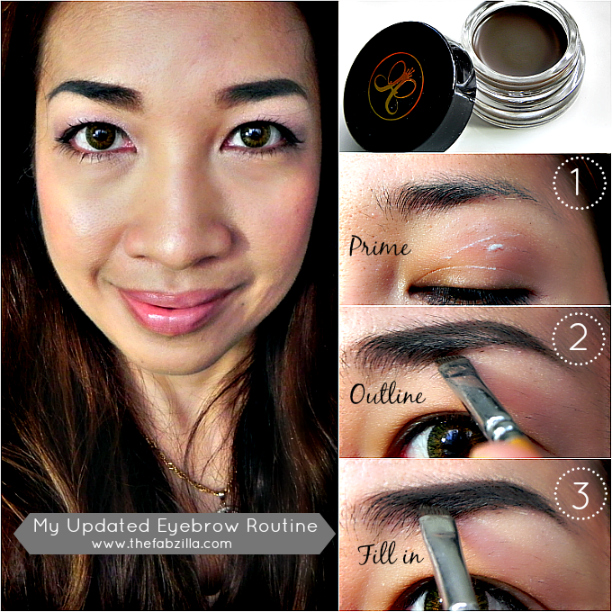 how to fill eyebrows, how to groom eyebrows, sparse eyebrows treatment, review anastasia dip brow pomade, swatch anastasia dip brow pomade dark chololate