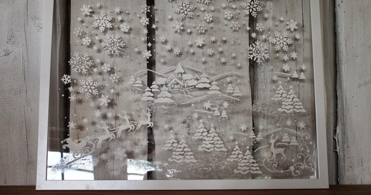 beates kreative welten winterliche fenstergestaltung mit. Black Bedroom Furniture Sets. Home Design Ideas