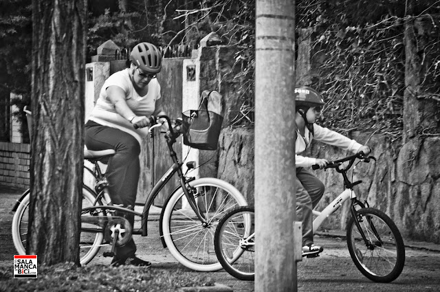 al cole en bicicleta