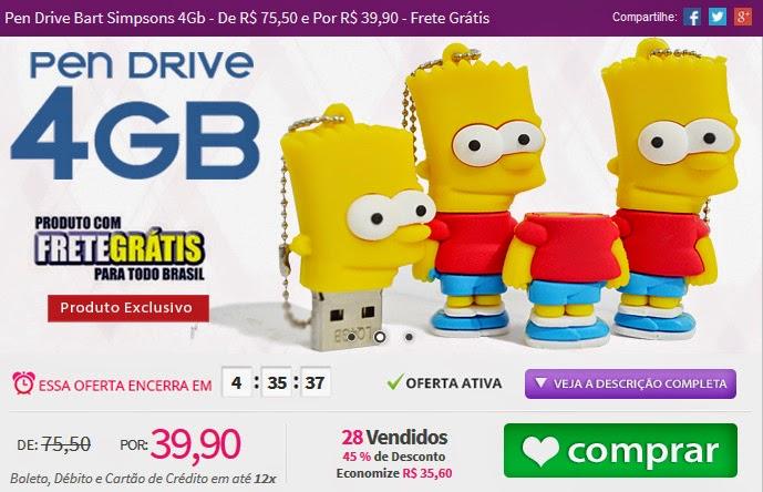 http://www.tpmdeofertas.com.br/Oferta-Pen-Drive-Bart-Simpsons-4Gb---De-R-7550-e-Por-R-3990---Frete-Gratis-837.aspx