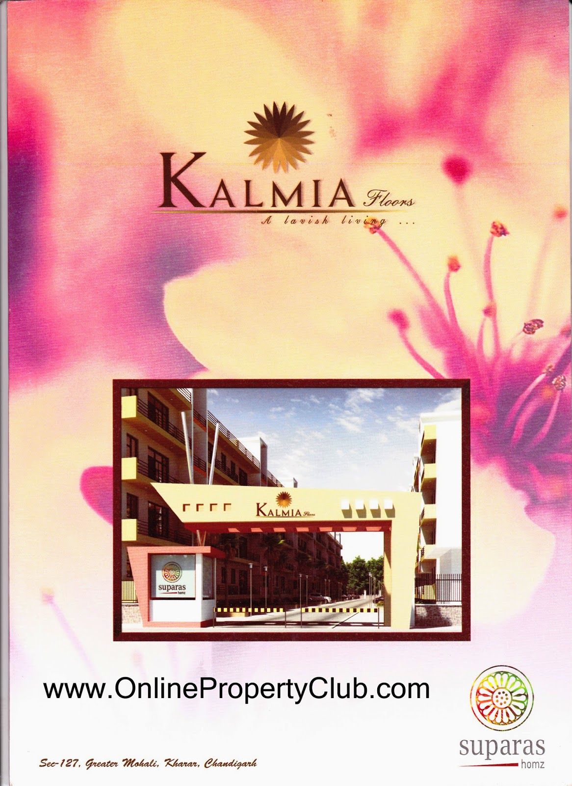 Suparas Kalmia Floors in Sector 127, Greater Mohali, Kharar (Near Chandigarh)