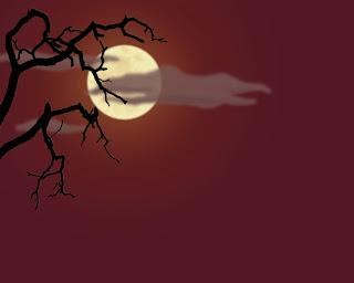 Dark Red Sky Dark Gothic Wallpaper