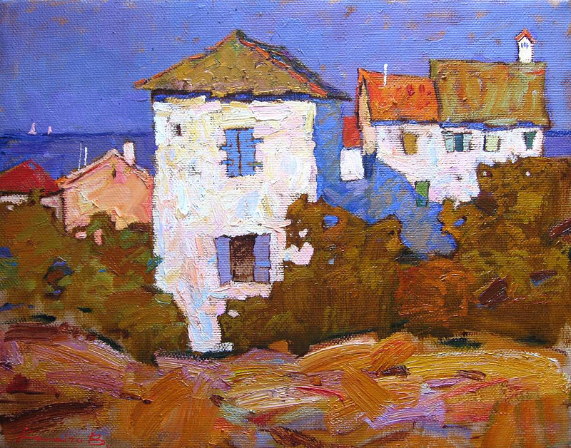 Repinart Home Of Russian Impressionism Plein Air Works