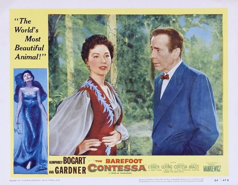 The Barefoot Contessa movie and tv screencaps: the barefoot contessa (1954) - written